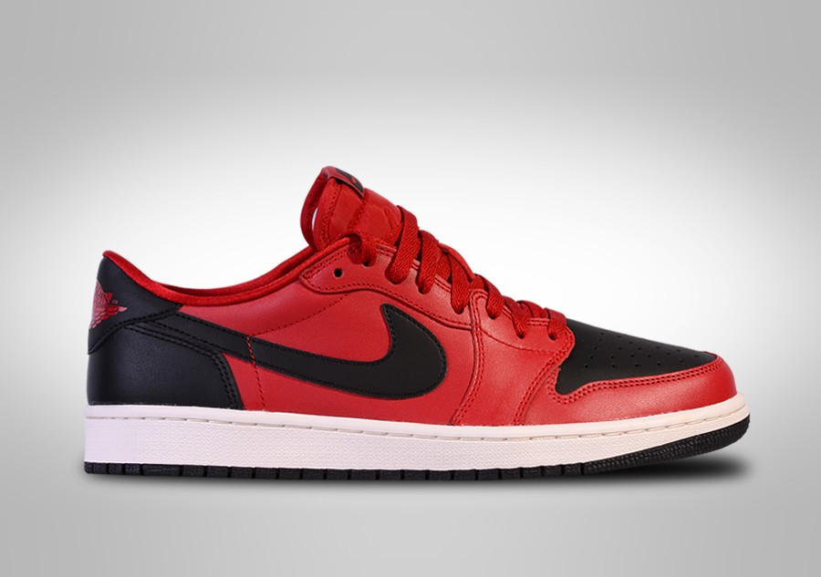 5447562350c1 NIKE AIR JORDAN 1 RETRO LOW OG BRED price €112.50