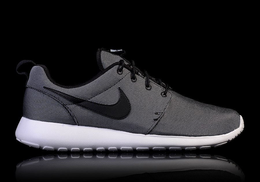 buy online 172be 499d6 NIKE ROSHE ONE PREMIUM  BLACK WHITE-WOLF GREY
