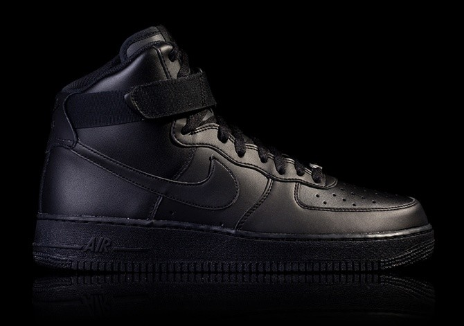 NIKE AIR FORCE 1 HIGH '07 BLACK