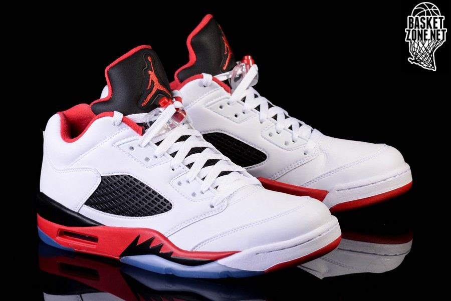 9dfcff2c2a43 NIKE AIR JORDAN 5 RETRO LOW FIRE RED price €162.50