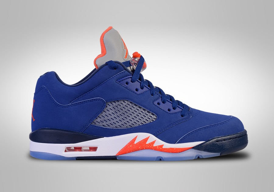 shades of running shoes free delivery NIKE AIR JORDAN 5 RETRO LOW KNICKS price €162.50 ...