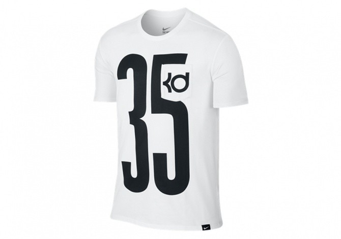NIKE KD POCKET JERSEY TEE WHITE