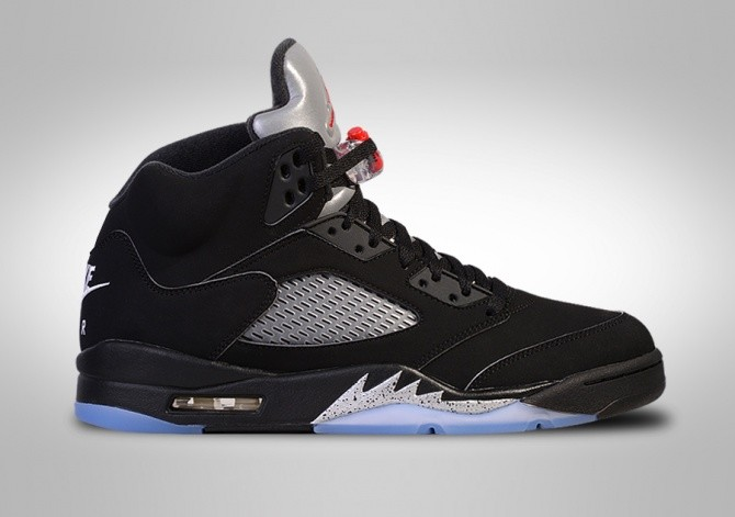 NIKE AIR JORDAN 5 RETRO OG BLACK METALLIC