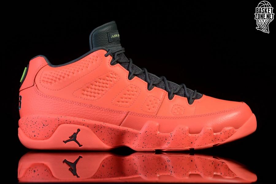 lowest price 37cce adb10 france pink orange womens air jordan retro 9 shoes 9d4c5 84962