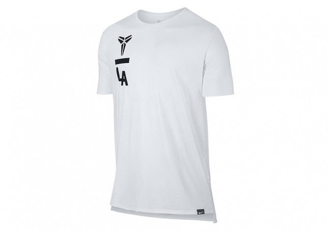 NIKE KOBE ART DROPTAIL TEE WHITE
