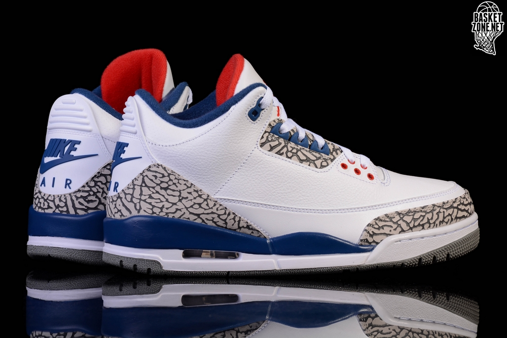 watch 0fc2c c1465 NIKE AIR JORDAN 3 RETRO OG TRUE BLUE BG