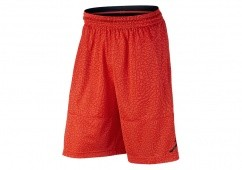 NIKE AIR JORDAN ELEPHANT PRINT BLOCKOUT BASKETBALL SHORT MAX ORANGE