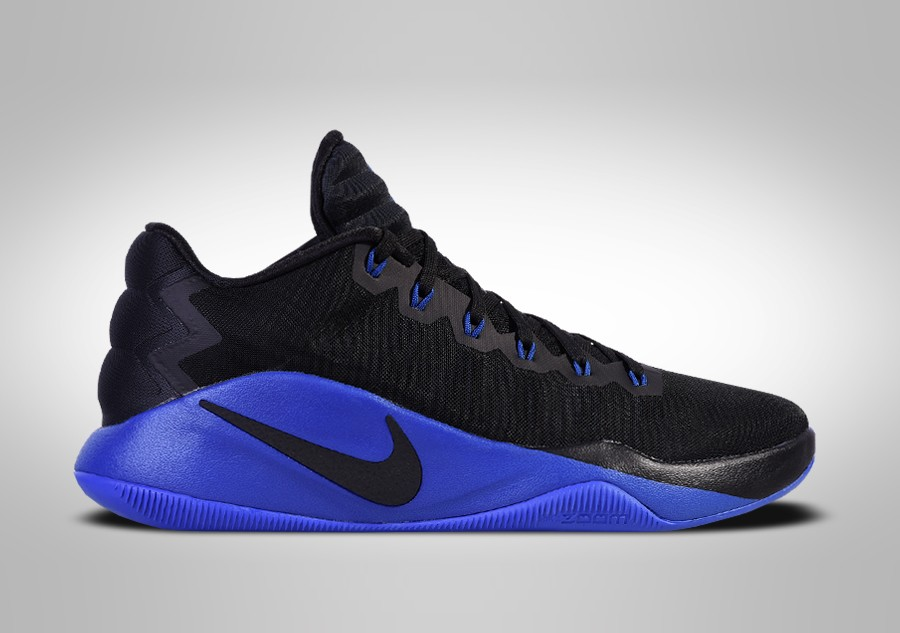 NIKE HYPERDUNK 2016 LOW BLACK BLUE price €105.00   Basketzone.net d76c4a28fe