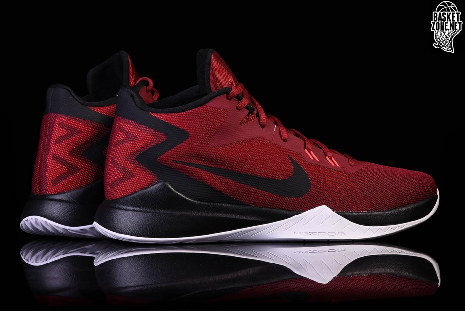 separation shoes ba58a c074d NIKE ZOOM EVIDENCE TEAM RED. 852464-600
