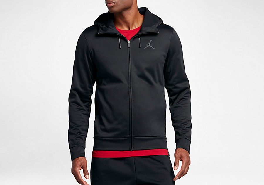 e9bac6a09b5e NIKE AIR JORDAN THERMA 23 PROTECT FZ HOODIE BLACK price €82.50 ...