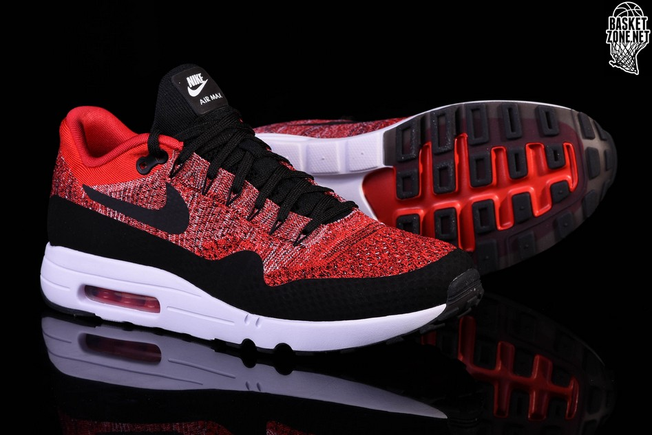 authentic nike air max 1 flyknit red 0ff07 492ef