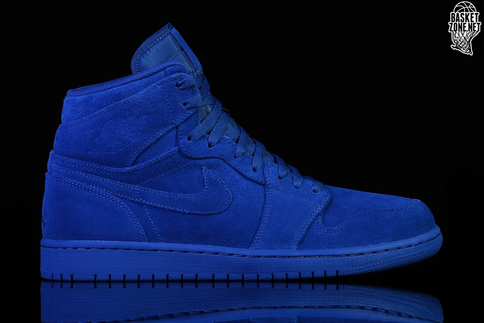 a1279c26daad13 NIKE AIR JORDAN 1 RETRO HIGH BLUE SUEDE price €122.50