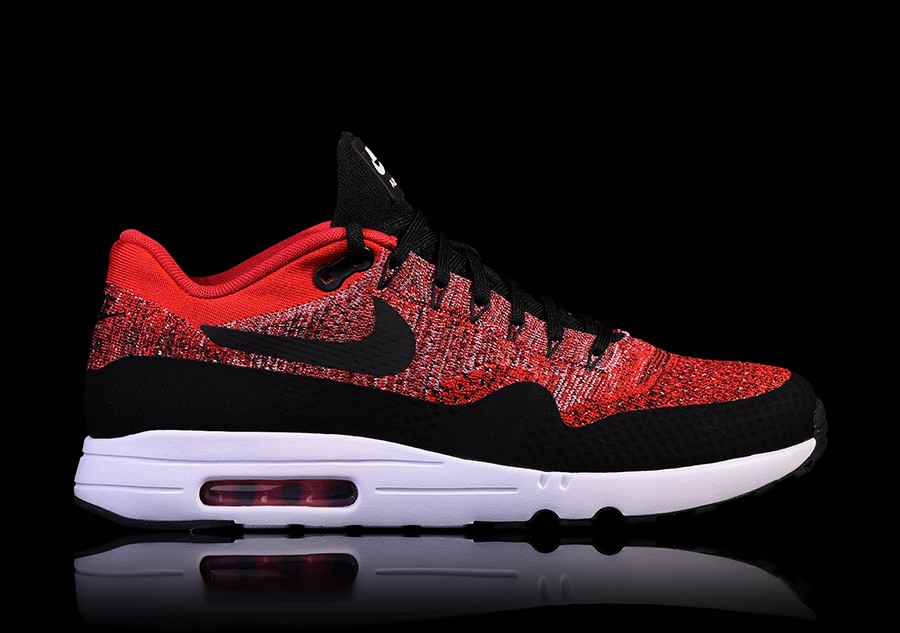 san francisco 33ff2 42e09 NIKE AIR MAX 1 ULTRA 2.0 FLYKNIT UNIVERSITY RED