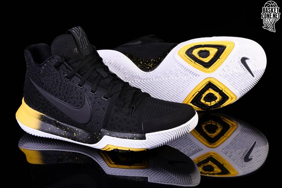 sports shoes fc138 3e467 NIKE KYRIE 3 BLACK YELLOW price €105.00 | Basketzone.net