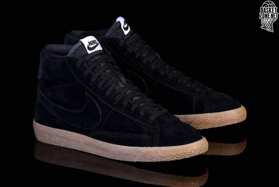 differently 9bacd 168d5 ... promo code for nike blazer mid premium black gum f2102 c7765