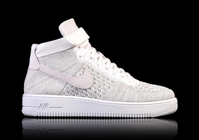 46a9f4ae96b NIKE AIR FORCE 1 ULTRA FLYKNIT MID SAIL price €125.00 | Basketzone.net
