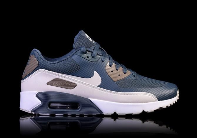 Nike Damen Air Max 90 Ultra 2.0 Hellblau Leder Sneaker 42