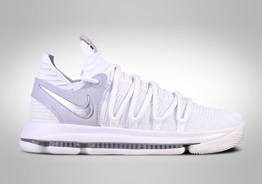 dad447a69aa0 NIKE ZOOM KD 10 STILL KD WHITE CHROME price €127.50