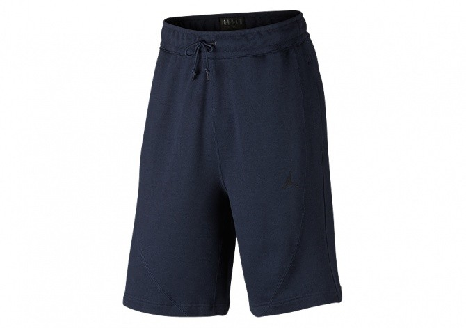 NIKE AIR JORDAN SPORTSWEAR WINGS FLEECE SHORTS OBSIDIAN