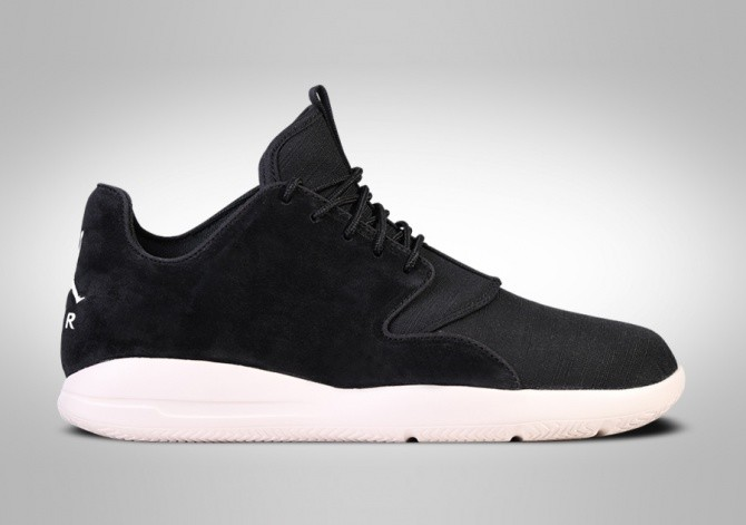 NIKE AIR JORDAN ECLIPSE LEATHER BLACK