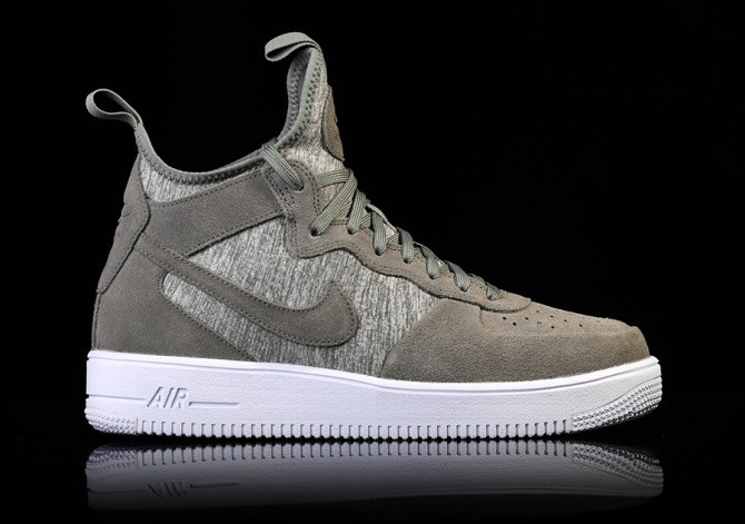 NIKE AIR FORCE 1 ULTRAFORCE MID PRM DARK STUCCO price