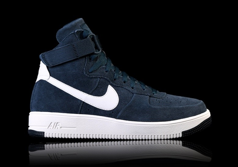 NIKE AIR FORCE 1 ULTRAFORCE HIGH ARMORY NAVY per ?105,00