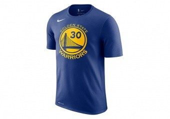 NIKE NBA GOLDEN STATE WARRIORS DRY TEE N&N RUSH BLUE