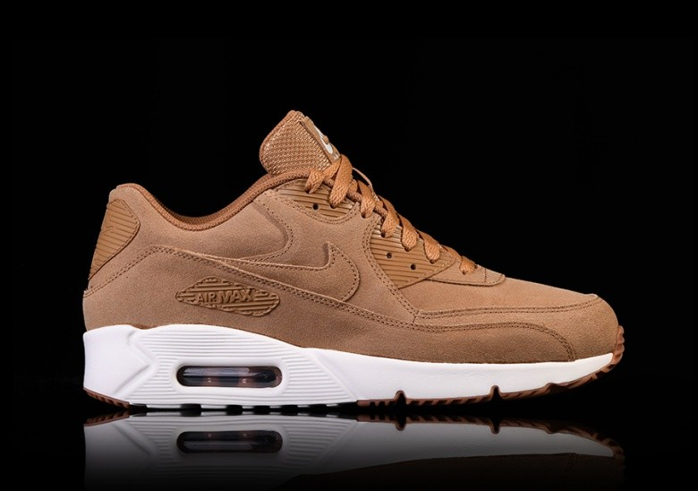 new products f1743 499b1 NIKE AIR MAX 90 ULTRA 2.0 LEATHER FLAX