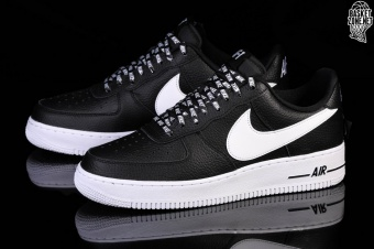 low priced 48c7d 07c58 NIKE AIR FORCE 1 07 LV8 NBA PACK BLACK