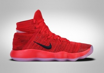 NIE HYPERDUNK 2017 FLYKNIT UNIVERSITY RED