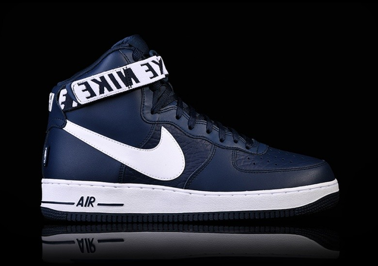 NIKE AIR FORCE 1 HIGH '07 NBA COLLEGE NAVY
