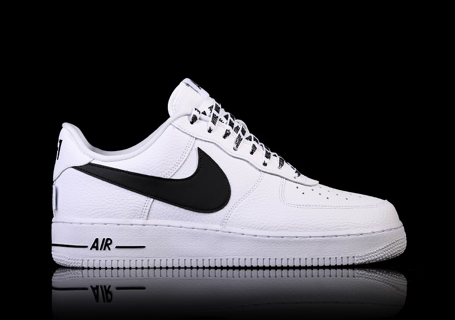 info for a6d4a c6a01 NIKE AIR FORCE 1 07 LV8 NBA PACK WHITE BLACK