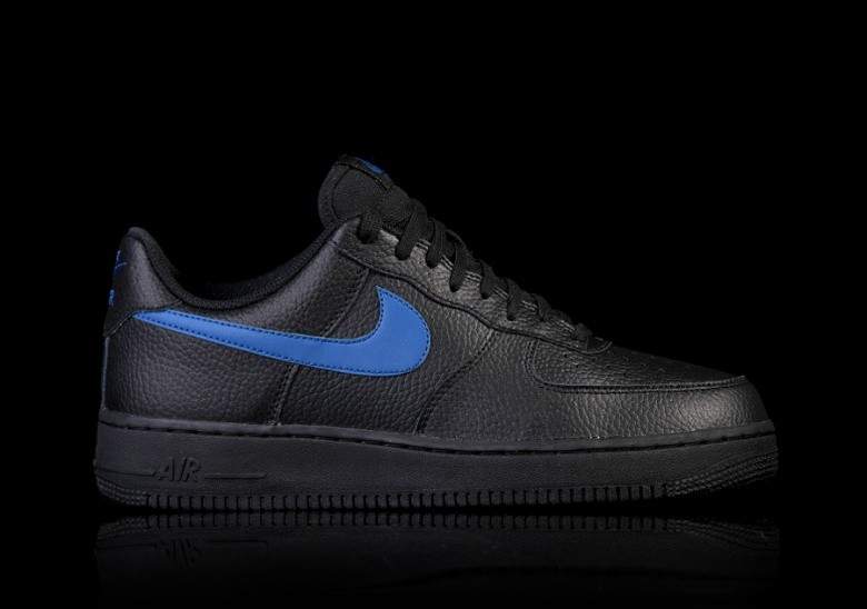 super popular d5099 5af13 NIKE AIR FORCE 1  07 BLACK BLUE