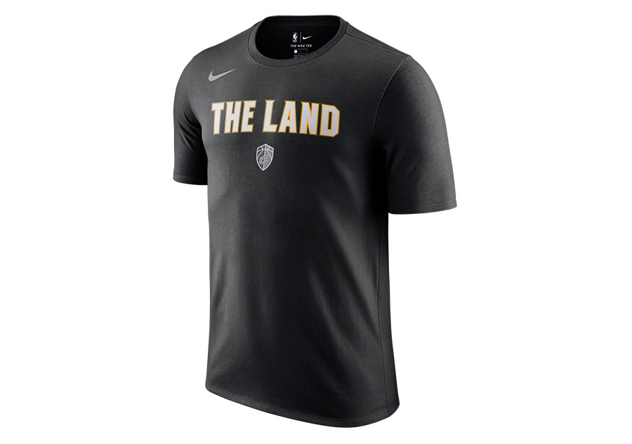 best service 629b7 d091a NIKE NBA CLEVELAND CAVALIERS CITY EDITION DRY TEE BLACK per ...