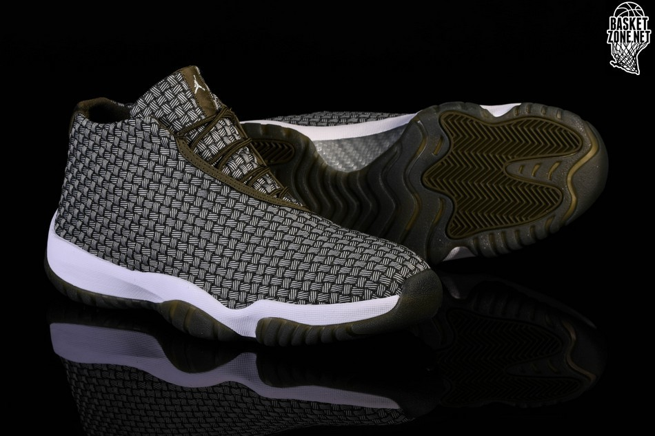 NIKE AIR JORDAN FUTURE DARK GREEN