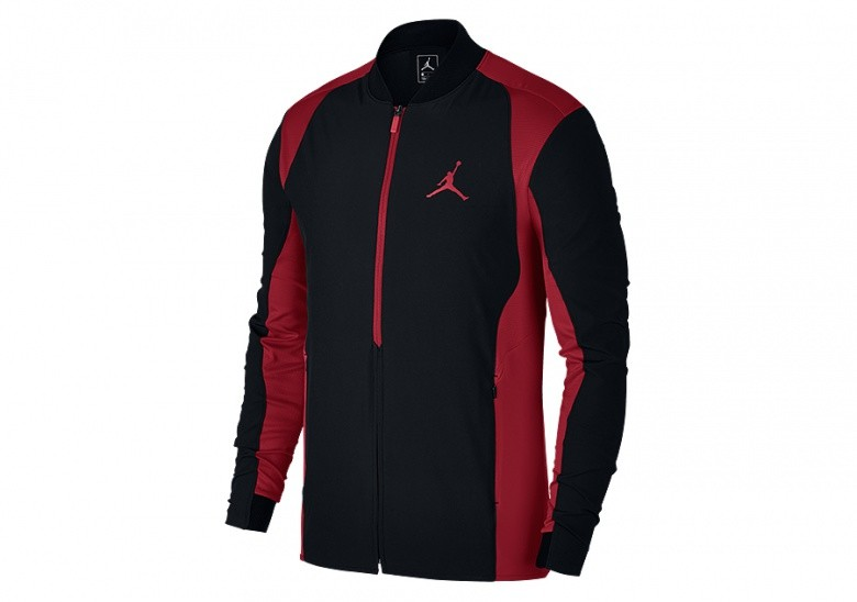 67ac21a47a5f6d NIKE AIR JORDAN ULTIMATE FLIGHT JACKET BLACK GYM RED per €92