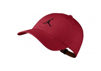 NIKE AIR JORDAN HERITAGE H86 JUMPMAN WASHED HAT GYM RED