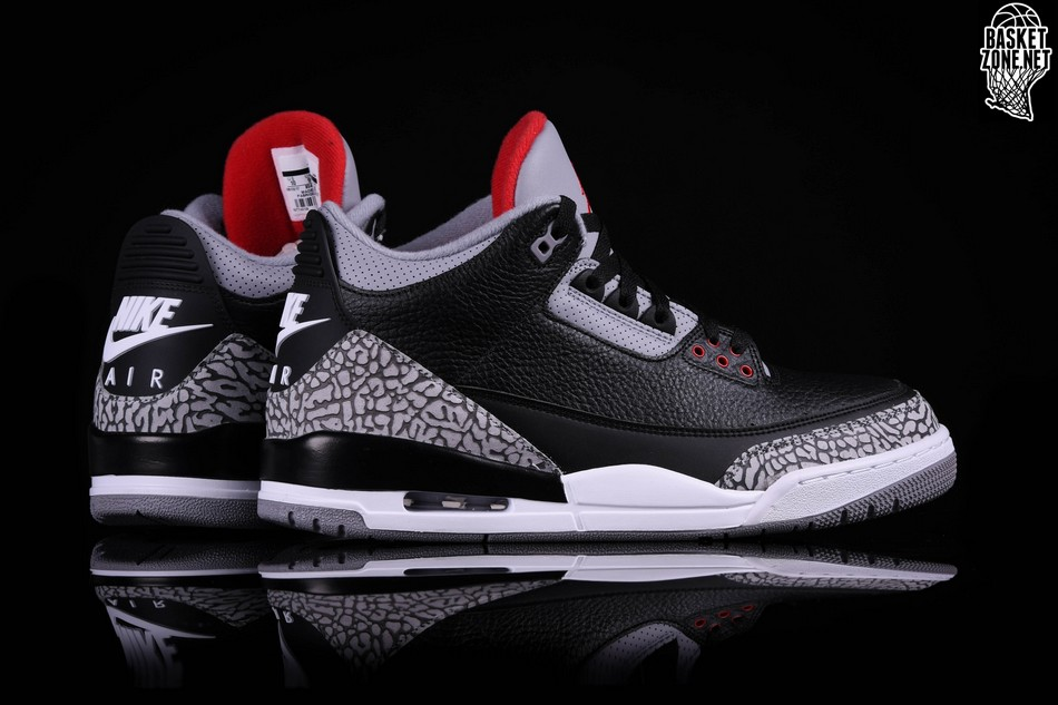 check out 021bc 4ed89 where can i buy air jordan 3 og black cement quarter 3d15a 9663e