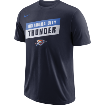 NIKE NBA OKLAHOMA CITY THUNDER DRY TEE