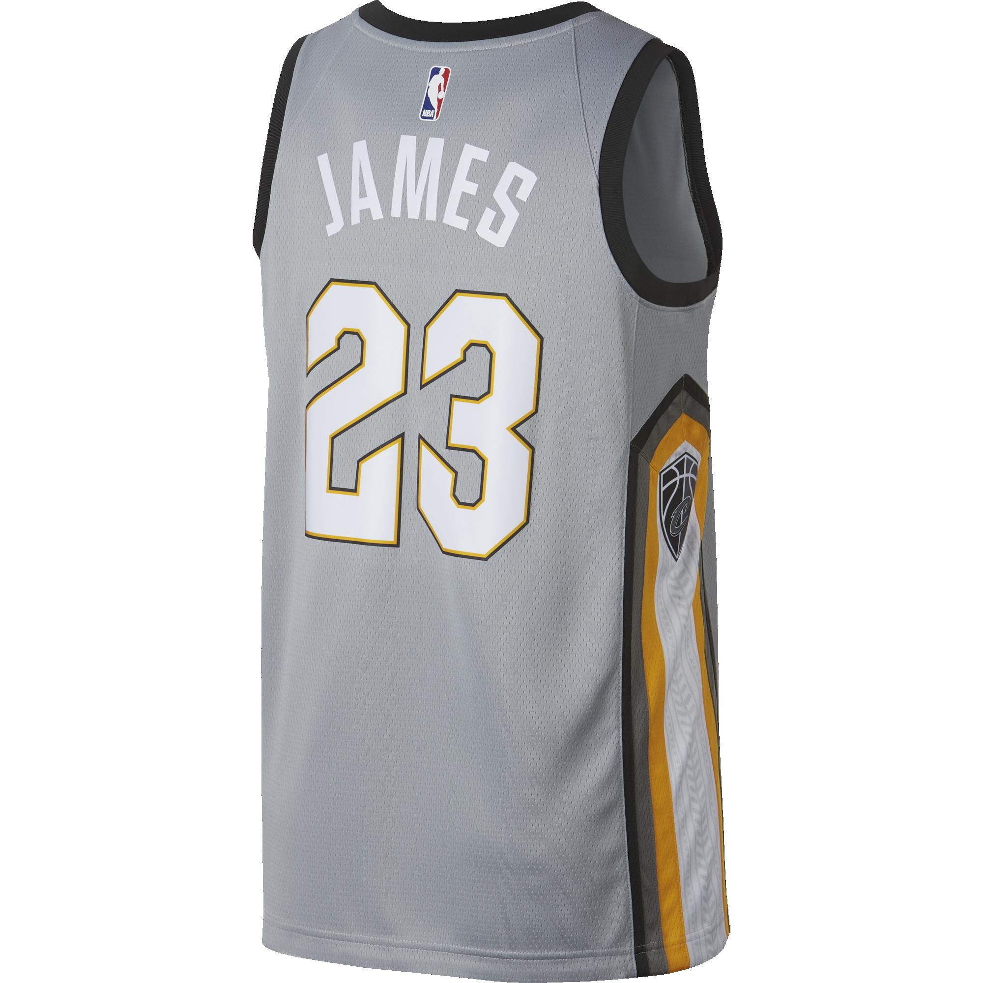 38324bcbaeb NIKE NBA LEBRON JAMES CLEVELAND CAVALIERS CITY EDITION SWINGMAN. Previous  Next