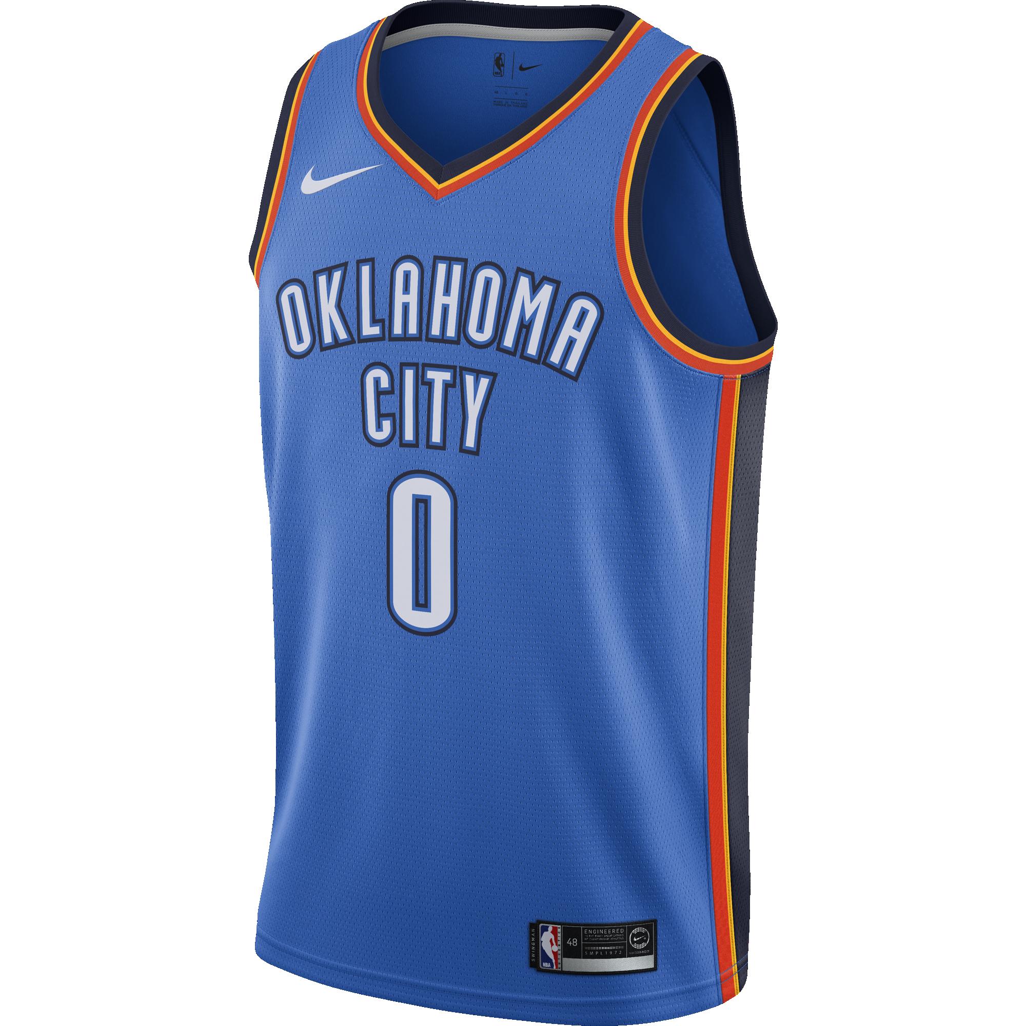 NIKE NBA OKLAHOMA CITY THUNDER ROAD