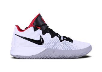 9239e77cde62 NIKE KYRIE FLYTRAP. WHITE BLACK UNIVERSITY RED