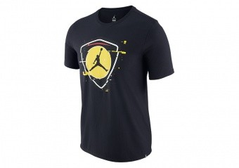 NIKE AIR JORDAN LAST SHOT TEE BLACK