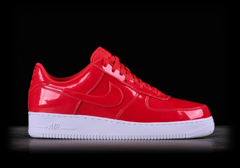 new concept 2d31d 73762 NIKE AIR FORCE 1  07 LV8 UV SIREN RED