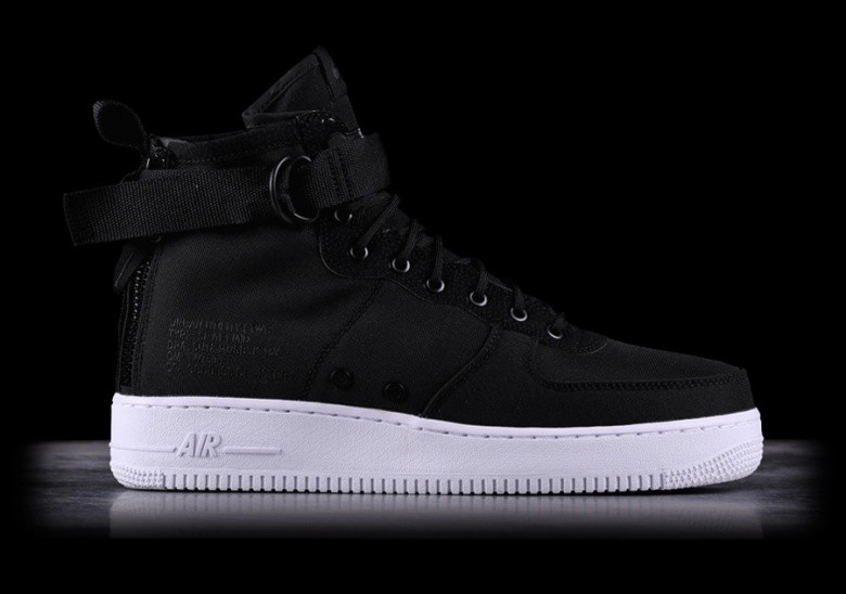 competitive price 3ab3f 8d179 NIKE SF AIR FORCE 1 MID BLACK