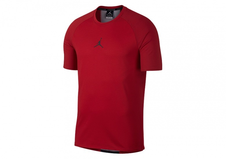 NIKE AIR JORDAN DRY 23 ALPHA TRAINING TOP GYM RED
