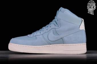 Nike Air Force 1 High 07 Suede Ocean Bliss AQ8649 400 w