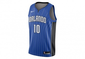 NIKE NBA ORLANDO MAGIC EVAN FOURNIER ROAD SWINGMAN JERSEY GAME ROYAL