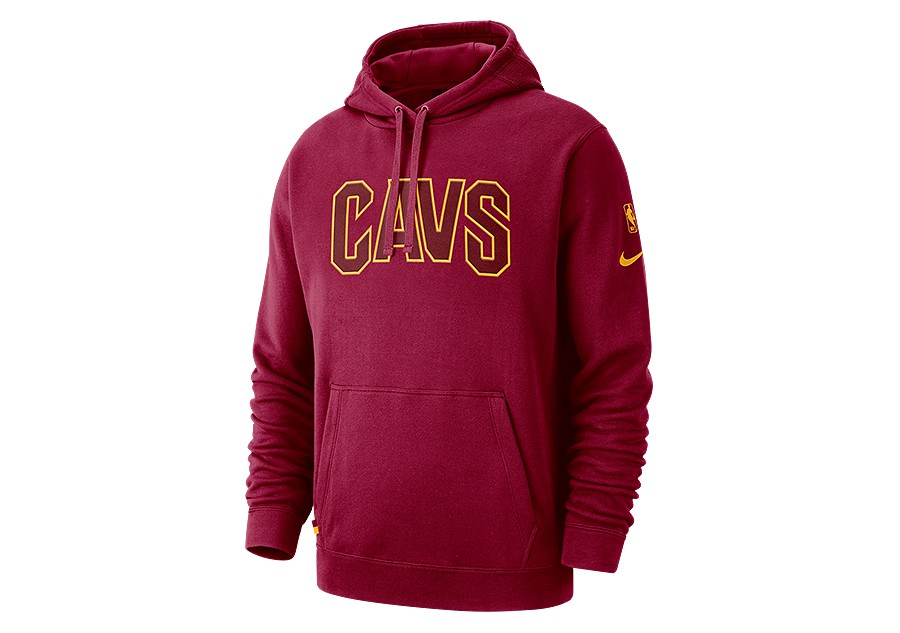 69b50caa425f NIKE NBA CLEVELAND CAVALIERS COURTSIDE HOODIE TEAM RED price €82.50 ...