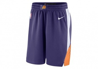 NIKE NBA PHOENIX SUNS SWINGMAN ROAD SHORTS NEW ORCHID